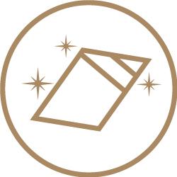 Square Stickers - Optional Lamination 2 Icon