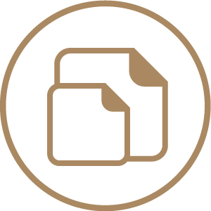 Square Stickers - Choice of Sizes & Papers 1 Icon