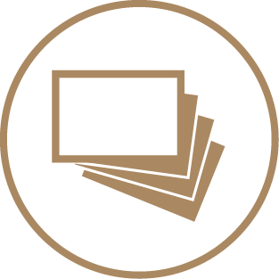 Paper Stickers - Choice of Sticker Papers 1 Icon