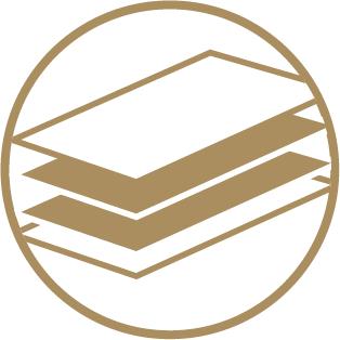 Quadplex Business Cards - 4 Bonded Layers 2 Icon