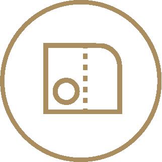 A4 Ready Shape 1-Pocket Folders - Optional Finishings 3 Icon