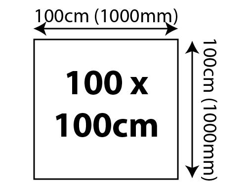 5mm Foam Board Panels - 100 x 100cm 1000x1000mm 02 Image