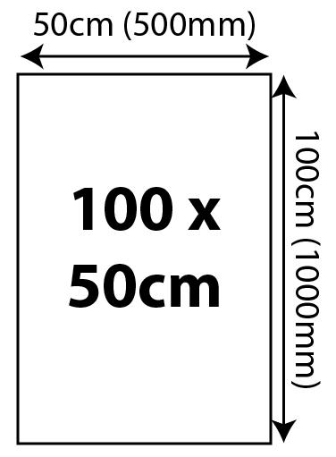5mm Foam Board Panels - 100 x 50cm 1000x500mm 01 Image