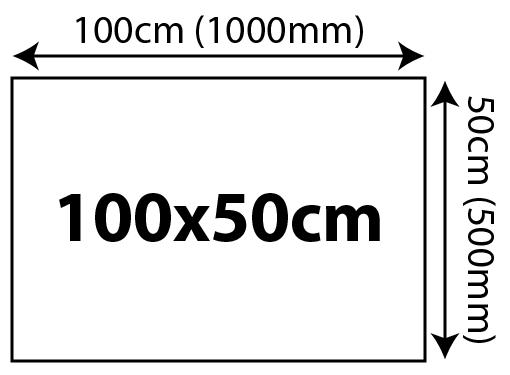 5mm Foam Board Panels - 100 x 50cm 1000x500mm 02 Image