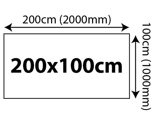 5mm Foam Board Panels - 200 x 100cm 2000x1000mm 02 Image