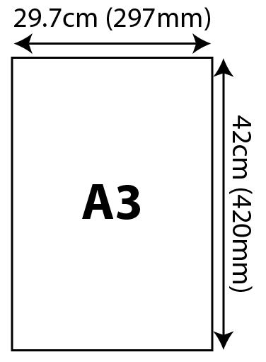 Standard Certificates - A3 (297x420mm) 297x420mm 02 Image