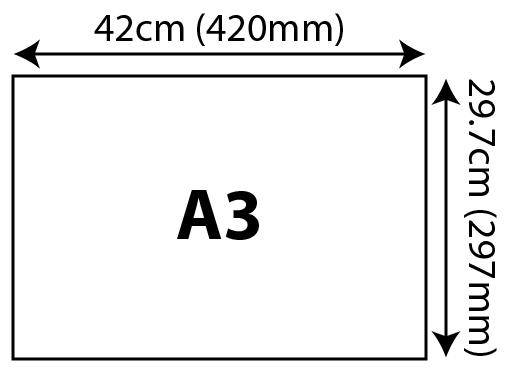 Standard Certificates - A3 (297x420mm) 297x420mm 01 Image