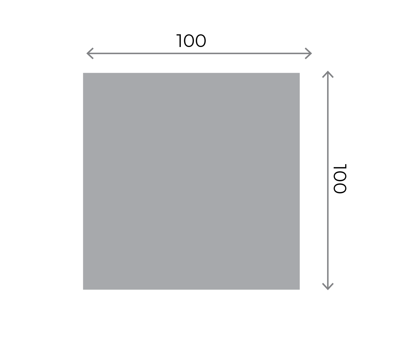 Square Stickers - 100x100mm Square 100x100mm 01 Image