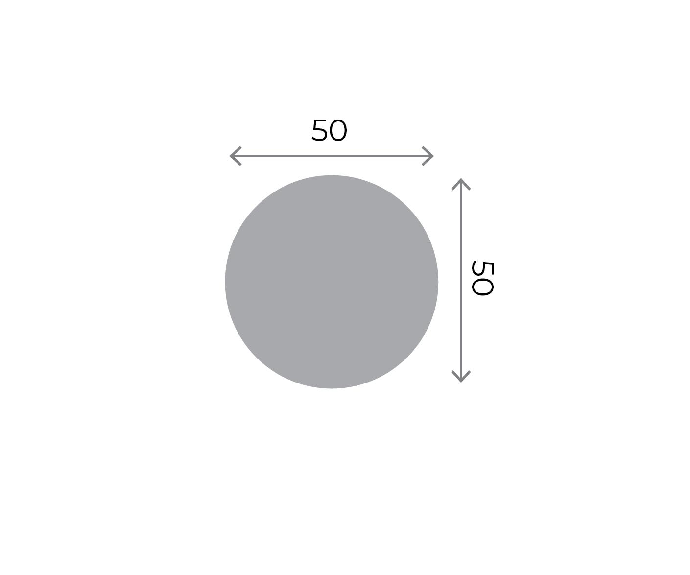 Round Stickers - 50x50mm Round 50x50mm 01 Image
