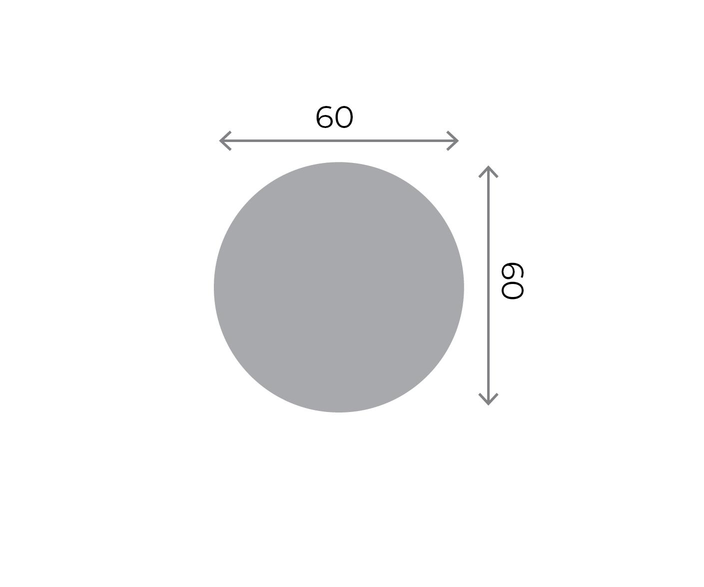 Round Stickers - 60x60mm Round 60x60mm 01 Image
