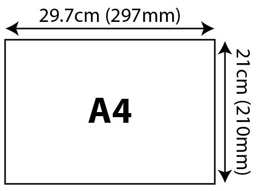 Standard Certificates - A4 (210x297mm) 210x297mm 01 Image