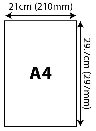 Standard Certificates - A4 (210x297mm) 210x297mm 02 Image