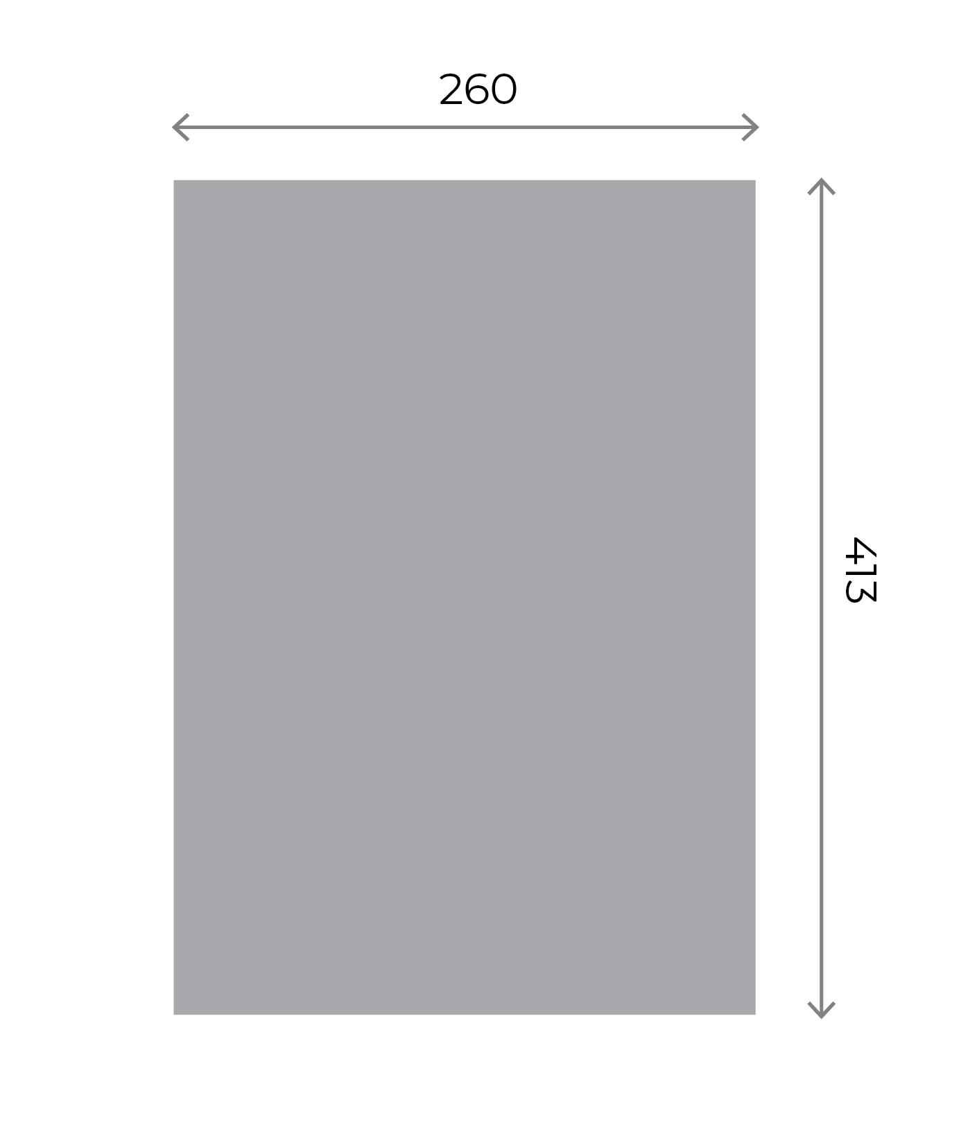 Any Shape Stickers - Large Kiss-cut sheet (260x413mm) 260x413mm 01 Image