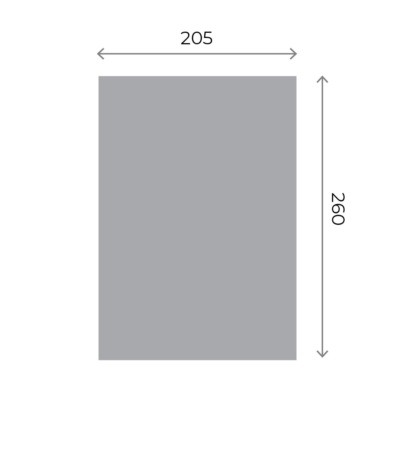 Any Shape Stickers - Medium Kiss-cut Sheet (205x260mm) 205x260mm 01 Image