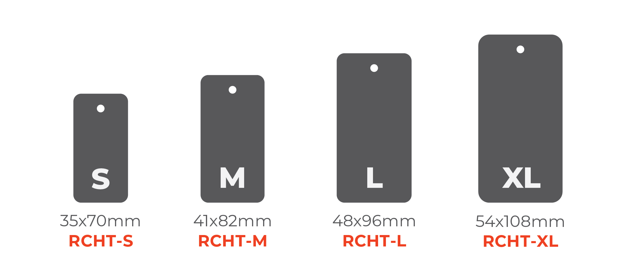 Double Pasted Hang Tags - Round Corner Tags 0x0mm 01 Image