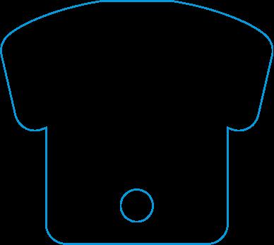 UF-003 Uniform Shaped Fan